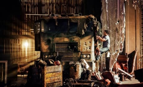 Transformers: Age of Extinction Mark Wahlberg Still