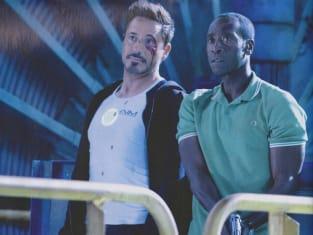 Robert Downey, Jr. Don Cheadle Iron Man 3