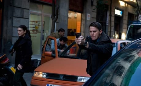 Channing Tatum and Gina Carano in Haywire