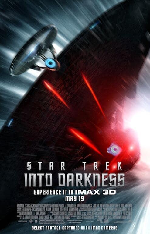 Star Trek Into Darkness Enterprise Poster