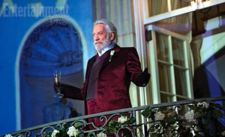 Donald Sutherland Catching Fire