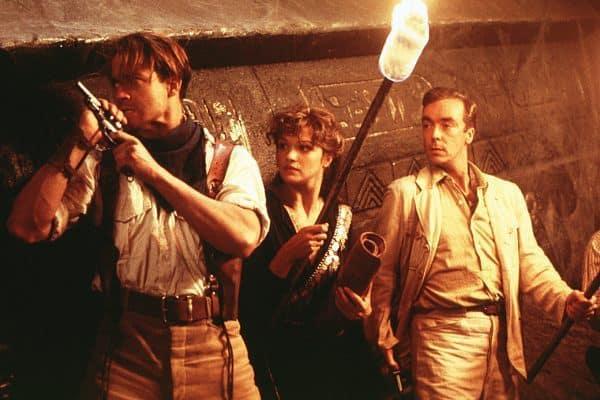 Rick, Evelyn, and Jonathan