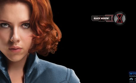 The Avengers Wallpaper: Black Widow