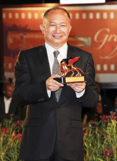 John Woo at the Venice Film Festival