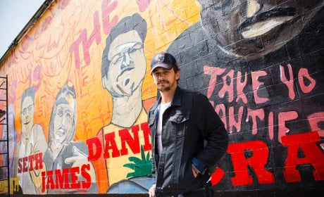 James Franco Mural Photo