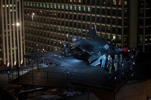 Batman's Batwing from The Dark Knight Rises
