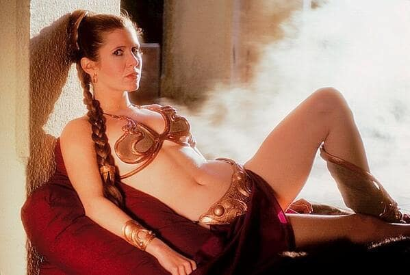 Return of the Jedi Carrie Fisher