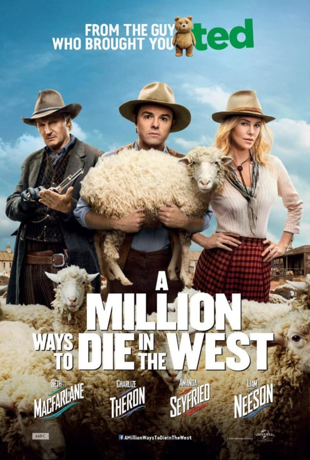 A Million Ways to Die in the West Poster