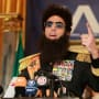 The Dictator Press Conference