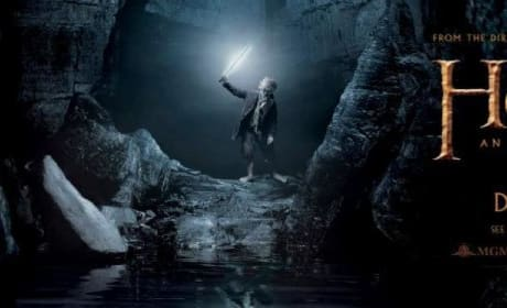 The Hobbit Gollum Banner