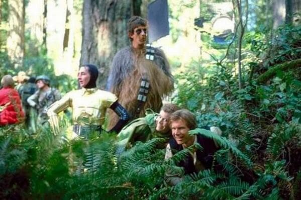 Return of the Jedi Behind the Scenes