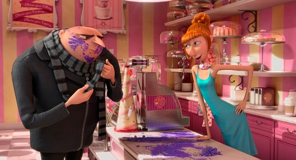 Despicable Me 2 Stars Steve Carell and Kristen Wiig