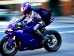 Hit Girl Motorcycle Kick-Ass 2