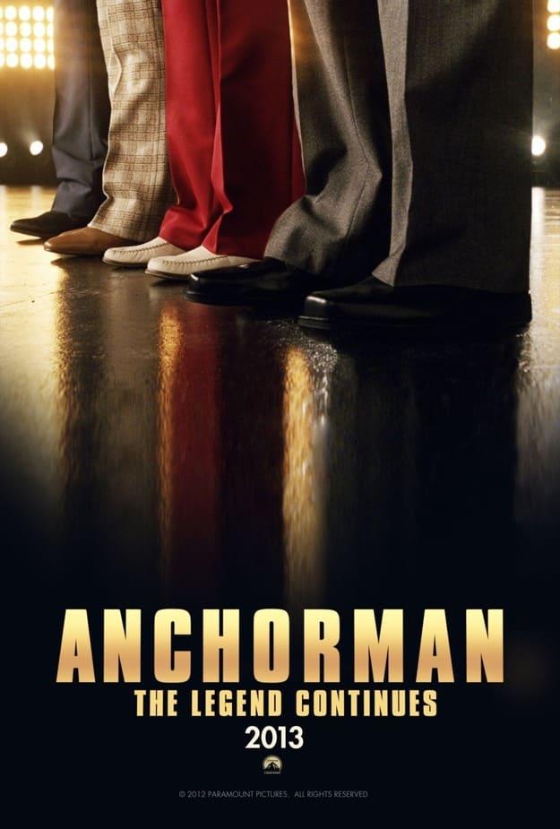 Anchorman 2 Teaser Poster