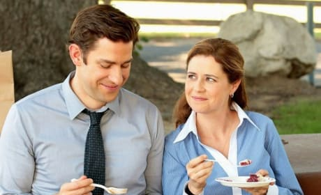 John Krasinski Jenna Fischer The Office