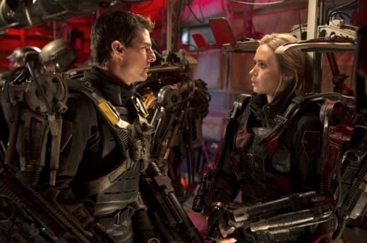 Edge of Tomorrow Stars Emily Blunt Tom Cruise