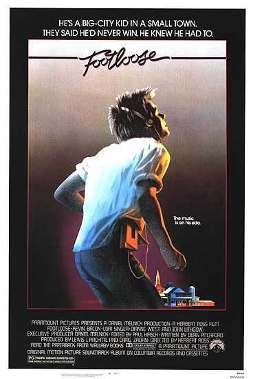 Footloose Original Poster