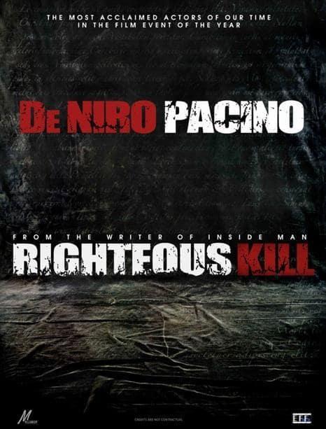 Righteous Kill Pic