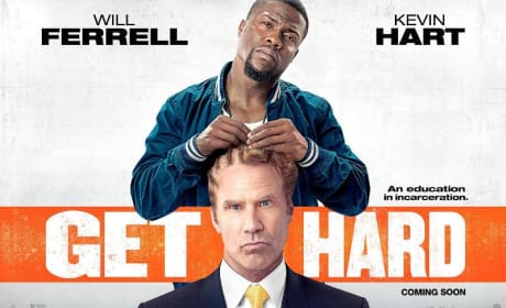 Get Hard Poster: Kevin Hart Readies Will Ferrell For Prison