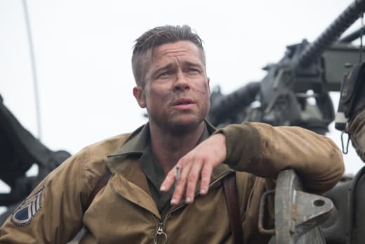 Fury Star Brad Pitt