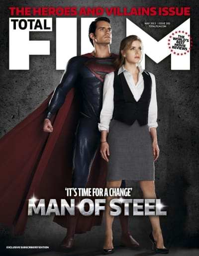 Man of Steel Total Film Cover