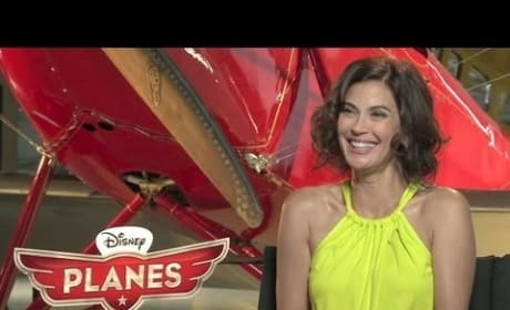 "Planes Exclusive: Teri Hatcher Wants Disney to Next Animate ""Trains!"""