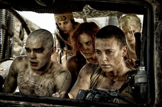 Mad max fury road charlize theron nicholas hoult photo