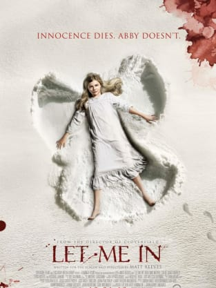 Let Me In Snow Angel Poster