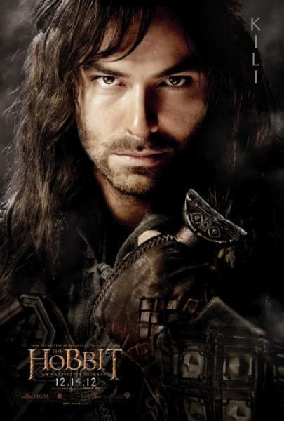 The Hobbit Kili Poster