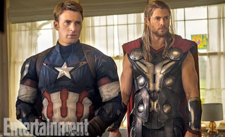 Avengers Age of Ultron Chris Evans Chris Hemsworth