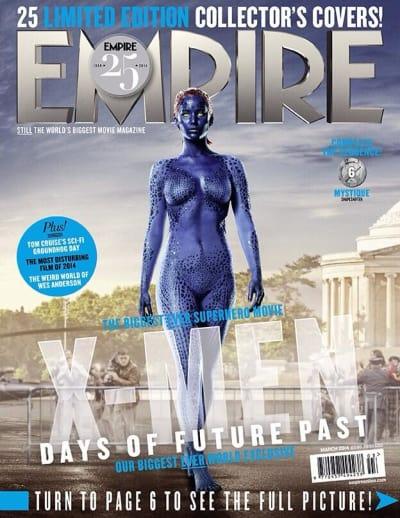 X-Men Days of Future Past Mystique Empire Cover
