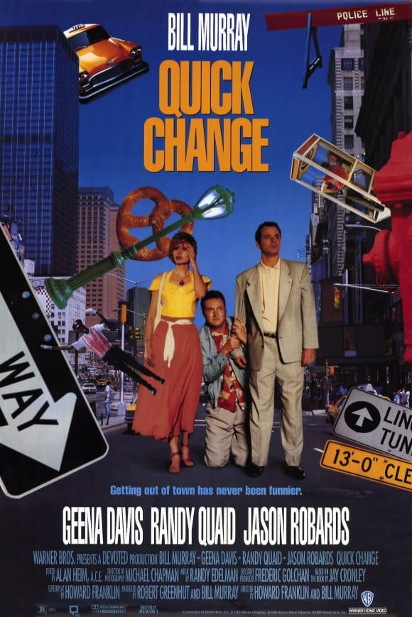 Quick Change Poster