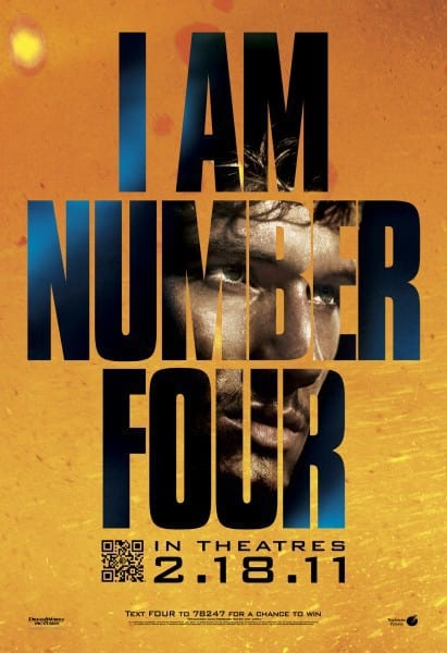 I Am Number Four Banner Poster