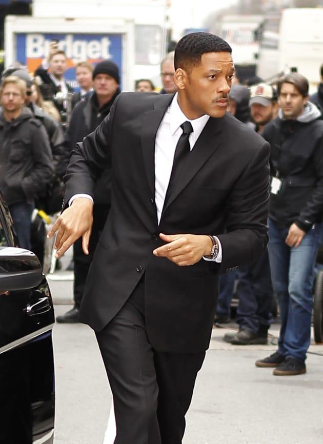 Will Smith Suits Up for Men in Black 3