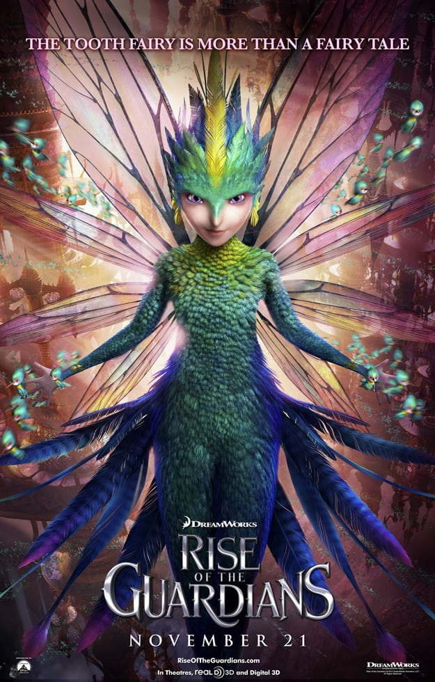 Tooth Fairy Rise of the Guardians