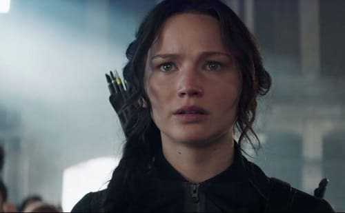Jennifer Lawrence The Hunger Games: Mockingjay Part 1