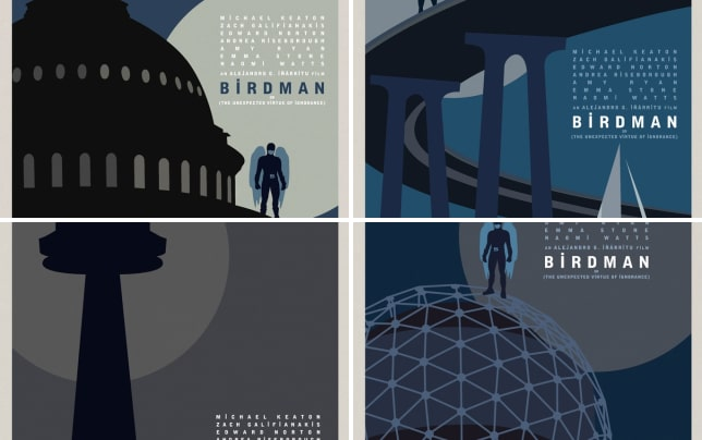 Birdman washington dc poster