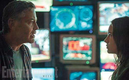 Tomorrowland George Clooney Britt Robertson