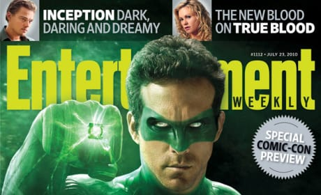 First Look at Ryan Reynolds as The Green Lantern!