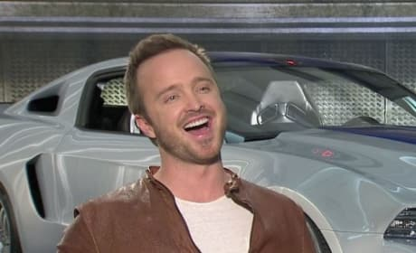 Need for Speed Exclusive: Aaron Paul Interview