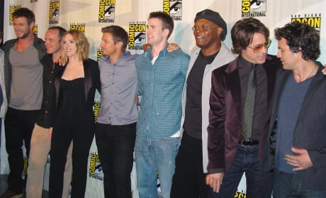 The Avengers at Comic-Con
