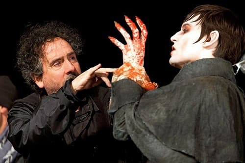 Johnny Depp and Tim Burton Film Dark Shadows