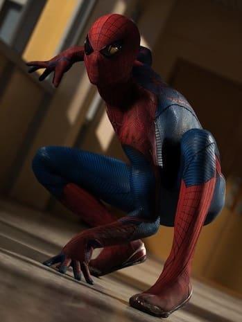 Spider-Man in The Amazing Spider-Man
