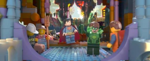 The LEGO Movie Superman Green Lantern