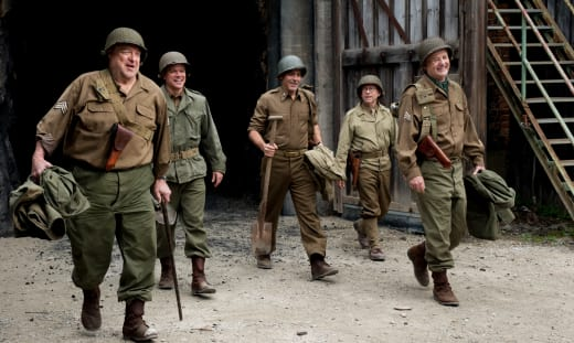The Monuments Men George Clooney John Goodman Bill Murray