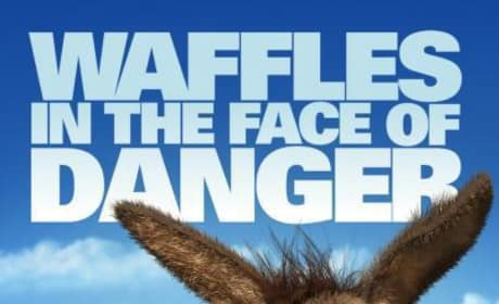 Shrek Forever After Waffles in the Face of Danger Poster