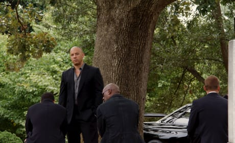 "Fast and Furious 7: Vin Diesel Shares ""Somber"" Photo"