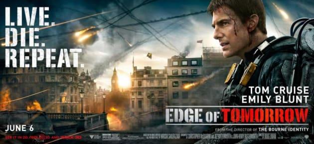 Edge of Tomorrow Tom Cruise Banner