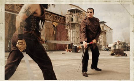 Machete Lobby Card- Steven Seagal