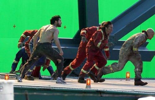 Man of Steel: Henry Cavill on Set